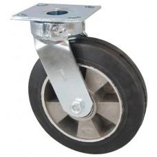 Колесо SC 200 (305-250-200) с кронштейном поворотным алюминий/резина