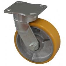 Колесо SD 100 (321-225-100) с кронштейном поворотным чугун/полиуретан