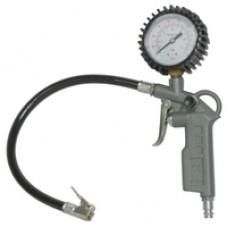 Пистолет N-01-080 для подкачки шин с манометром